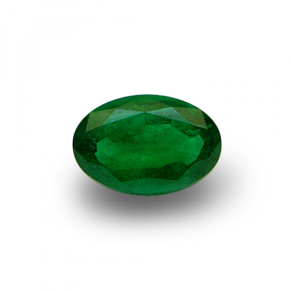 3.03 ct Oval Green Emerald