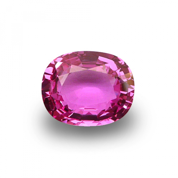 7.81 ct Oval Pink Sapphire