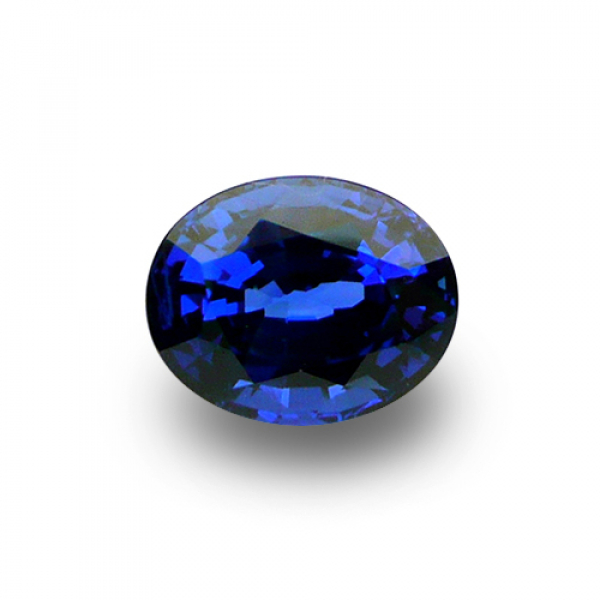 4.81 ct Oval Blue Sapphire