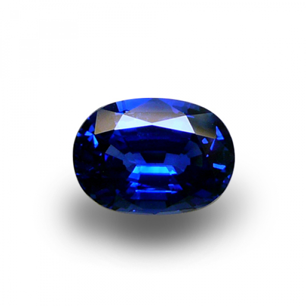 2.66 ct Oval Blue Sapphire
