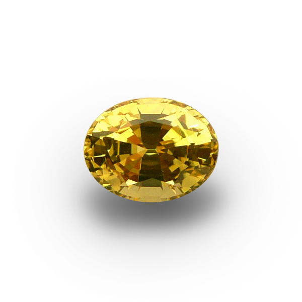 1.72 ct Oval Yellow Sapphire