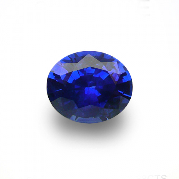 2.88 ct Oval Blue Sapphire